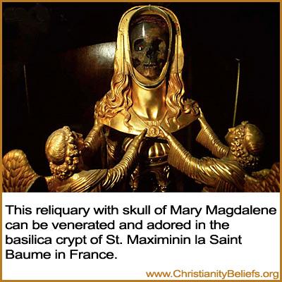 the roman catholic church popes and priests revere skulls