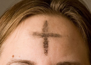 Ash Wednesday mark of Tammuz